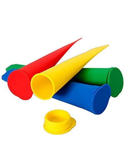 Elbee Silicone Ice Lolly Set Of 4