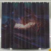 Pictures Of Funny And Happy Leaf Shower Curtain Designed 60x72 100% Polyester Shower Curtain