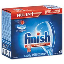 - Powerball Dishwasher Tabs, Fresh Scent, 20/Box
