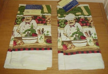 The Pecan Man Kitchen Dish Towels set of 2 - Commercial Grade Absorbent 100% Cotton Kitchen Towels ,