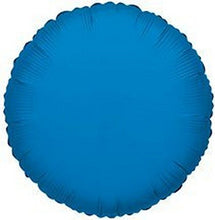 Creative Balloons Mfg. Inc. Kaleidoscope Royal Blue Round Foil Mylar Balloon, 18