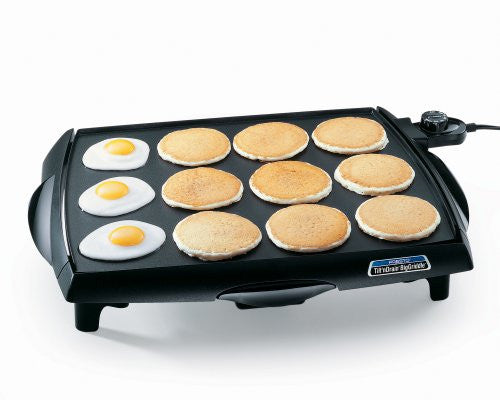 Presto 07046 Tilt 'N Drain Big Griddle Cool Touch Electric Griddle