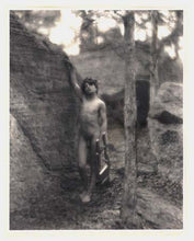 Copy of a Photo Nude Young Man c1900