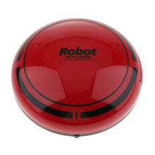Prettyia Smart Robot Vacuum Cleaner Rechargeable Automatic Floor Dust Sweeper 18 x 18 x 6.5 cm Red