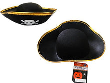 Hat Pirate 11 X 13.8 Inches 2 Assorted Color, Case Of 144