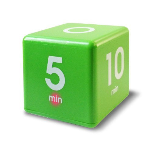 The Miracle Time Cube Timer, 1, 5, 10 And 15 Minutes, For Time Management, Kitchen Timer, Kids Timer,