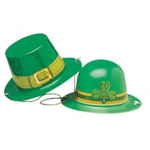 Amscan International St Patricks Day Mini Plastic Hats (12 Pack)