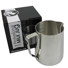 Rhino Coffee Gear Rhmj32oz 0799439358034 Milk Pitcher, 32 Oz, Silver