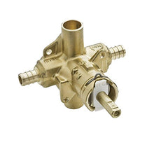 Moen 2580 Posi Temp Brass Pressure Balancing Shower Valve, 1/2 Inch Crimp Ring Pex Connection
