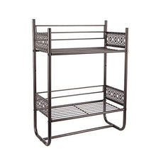 Silverwood Filigree Bathroom Collection Wall Shelf, 18