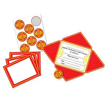 Chinese Invitations & Seals   (8/Pkg)