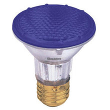 Bulbrite H50PAR20B50W 120V PAR20 Halogen Light, Blue