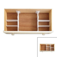 Real Simpleã'â® 6 Piece Adjustable Drawer Organizer