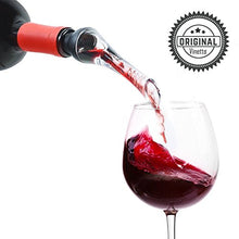 Vinetto Wine Aerator Pourer And Decanter Spout | Easy, Rapid Way To Help Air Filter Into Wine | Uniq