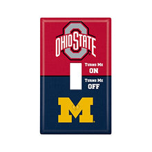 Keyscaper Ohio State University Single Toggle Light Switch Cover Ncaa