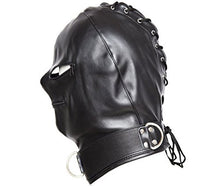 Black Breathable Face Cover, Universal Size,Light Weight Hood Mask,Masqerade Adult Cosplay, Carnival,Prank.