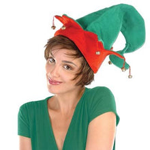 Felt Elf Hat with Bells Pkg/12