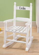 Miles Kimball Personalized Childrens Rocking Chair, Features Classic Rocker Design And Hardwood Cons