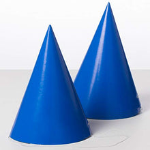 Solid Party Hats (8 Pack)