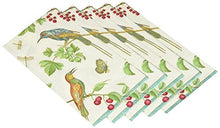 Entertaining With Caspari Jeweled Birds Paper Guest Towels (15 Pack), Ivory