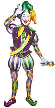 Beistle 55369 Jointed Mardi Gras Jester, 3-Feet 2-Inch