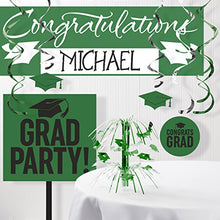 Graduation School Spirit Green Decorations Kit