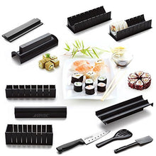 Sushi Maker Kit, Ag Ptek 11pcs Diy Sushi Making Kit Roll Sushi Maker Rice Roll Mold Including Sashim