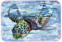 Caroline's Treasures 8941CMT Loggerhead Turtle in a Dive Kitchen or Bath Mat, 20 by 30