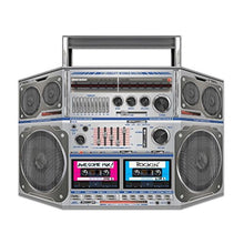 Boom Box Stand-Up Party Accessory (1 count) (1/Pkg) Pkg/6