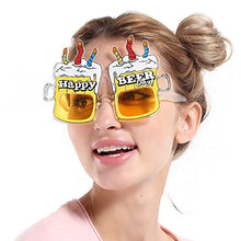 Photo Booth Props Party Tricky Funny Glasses (Birthday cake beer glasses)
