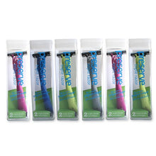 Wholesale Preserve Triple Razor - 6 Pack - Assorted Colors, [Bathroom, Shaving/Hair Removal]