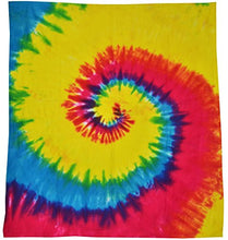 Colortone Tie Dye Blanket Rainbow
