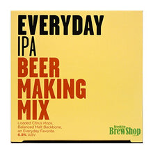 Brooklyn Brew Shop Everyday IPA Beer Making Mix: All-Grain Beer Making Mix Including Malted Barley, Hops And Yeast - Perfect For Brewing Craft Beer On Your Stove at Home