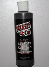 8 Oz Dark Brown   Leather Max Leather Refinish An Aid To Color Restorer For Larger Jobs Like Sofa Or