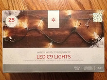 LED Diamond C9 Light Set - 25ct White
