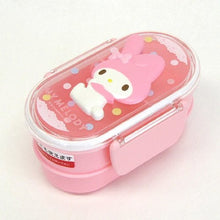 Bento: Sanrio My Melody 2-tier Microwavable Bento Lunch Box (5.75