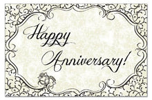 Counterart Paper 36-Pack Placemat, Anniversary