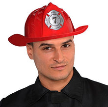 Red Firefighter Hat - Adult, 6 Ct.
