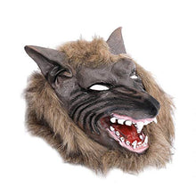 Demarkt 1PCS Halloween Terror Fancy Dress Party Mask Set Party Costume single wolf head