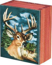 Whitetail Buck Deer Cedar Chest Box, 4