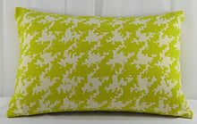 Creative Accent Decorative 100% Cotton Throw Pillow Cover, 12x24 inches, Chartreuse