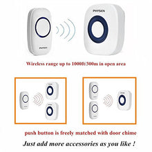 Physen Model Cw Waterproof Wireless Doorbell Kit With 3 Push Buttons And 2 Plugin Receivers Operatin