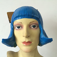 CD Pretty Girls Latex Wig For Cosplay,Halloween,Costume,Dance Party