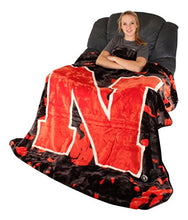 College Covers Nebraska Cornhuskers Throw Blanket/Bedspread
