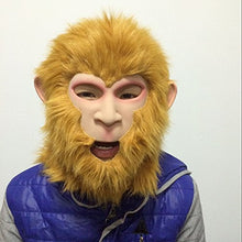Monkey King Latex Full Head Mask Halloween,Costume,Easter,Cosplay by MaskShow
