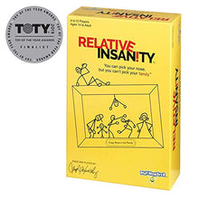Relative Insanity Party Game About Crazy Relatives    Made & Played By Comedian Jeff Foxworthy!