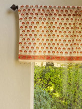 Tropical Garden (CP) ~ Cottage Colorful Beaded Window Valance 46x17