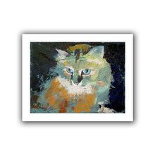 Art Wall Himalayan Cat Unwrapped Canvas Art By Michael Creese, 18 By 22 Inch