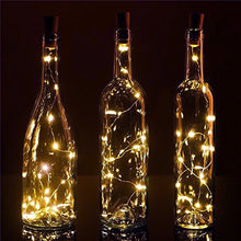 Fantado 20 Warm White LED Cork Wine Bottle Lamp Fairy String Light Stopper, 40-Inch by PaperLanternS