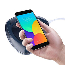 Livoty Fast Charge Qi Wireless Charging Stand Dock good for using at home, office, public area